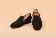 Coffee Brown Suede Loafer