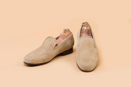 Cappuccino Suede Loafer