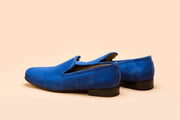 Azure Blue Suede Loafer