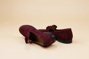 Wine Tassel Loafer