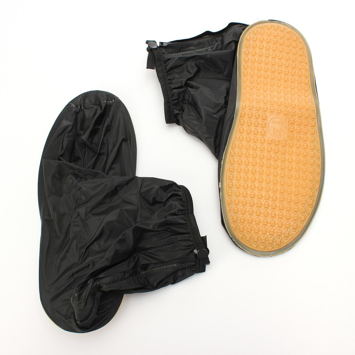 1 Pair Reusabl Rubber Waterproof Rain Shoes Cover