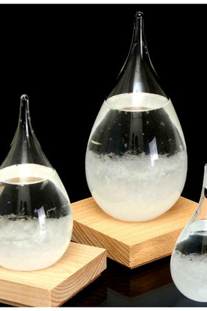Home Decorative Weather Forecast Storm Glass Crystal