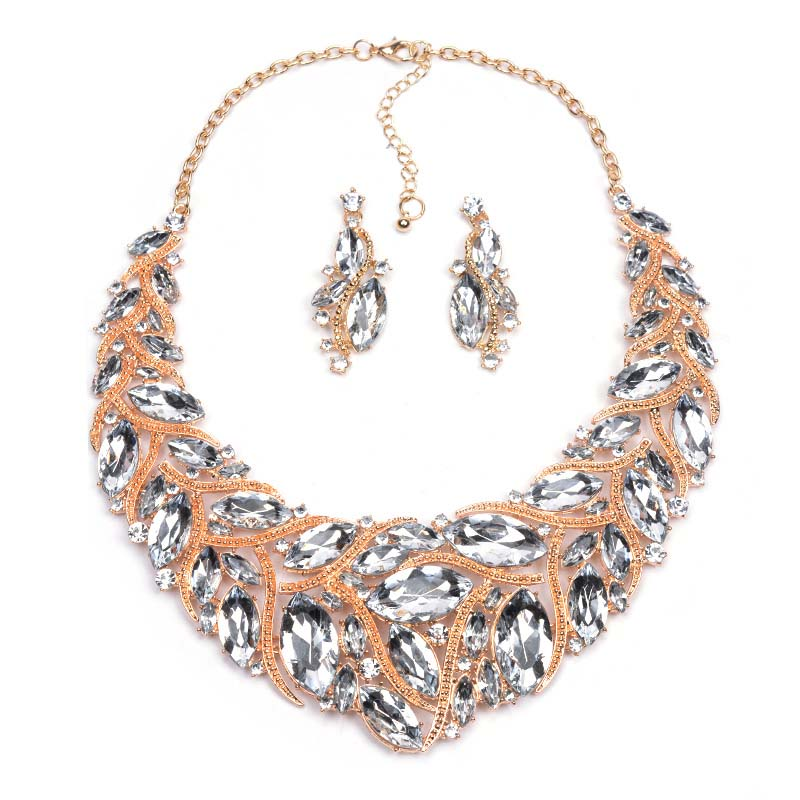 Natalie Necklace & Earrings Jewelry Set
