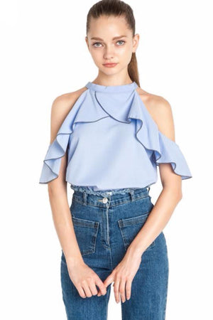 Myla Fashion Round Neck Short Sleeve Tops