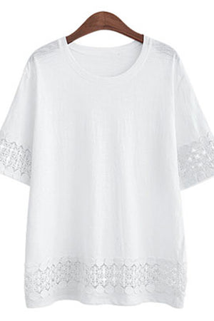Emilee Tee Fashion Loose Casual Tops
