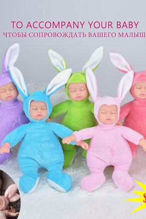 Rabbit Plush Stuffed Baby Toys