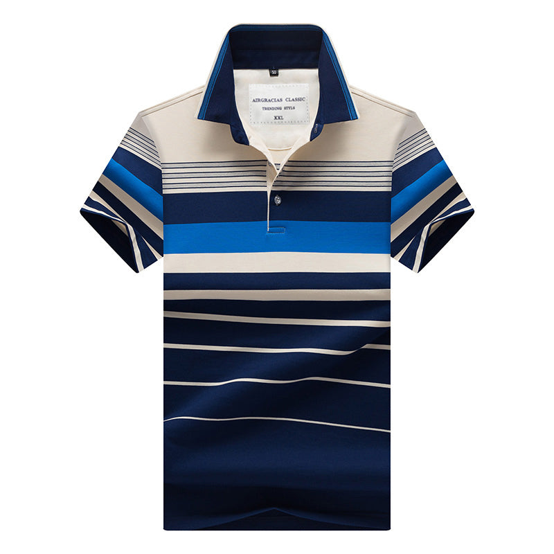 Edward Striped Polo Shirt
