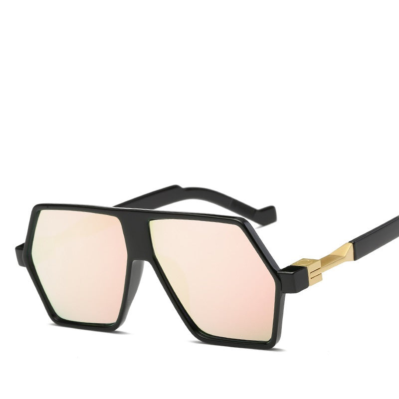 Stacia Irregular Oversized Sunglasses