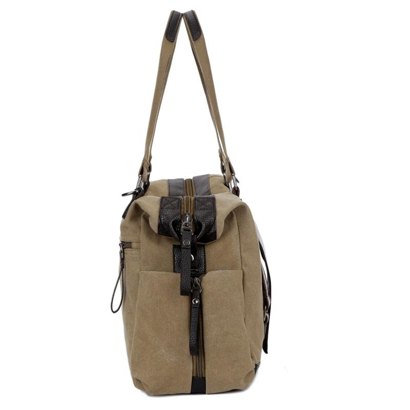 220b80b971 Rowan Vintage Canvas Travel Luggage Bag – VowMart Online Shopping