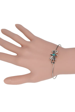 Aubrey Exquisite Flowers Bangle