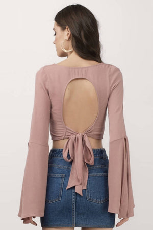 Lauryn Backless Casual Tops