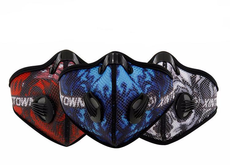 Anti-dust Carbon Filter Cycling Breathable Mask