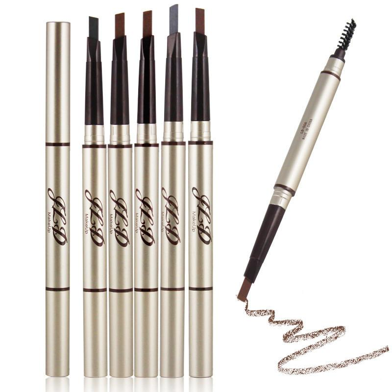 Automatic Eyebrow Pencil With Eyebrow Brush