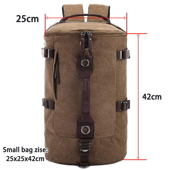 1c4ab2774c9 Man Travel Large Capacity Canvas Backpack – VowMart Online Shopping