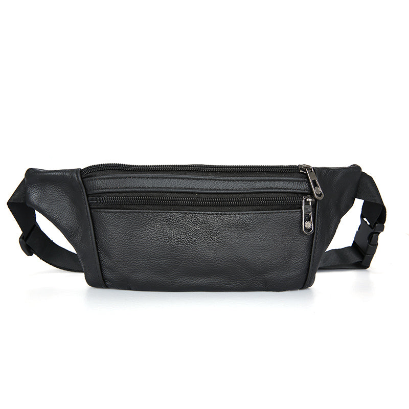 Men Leather Waist Pack Travel Bag – VowMart Online Shopping f7f3be5c6facd