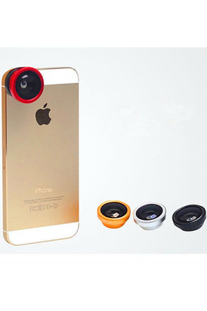3 in 1 180 Degree Fisheye Lens