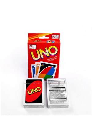 UNO Poker Table Card