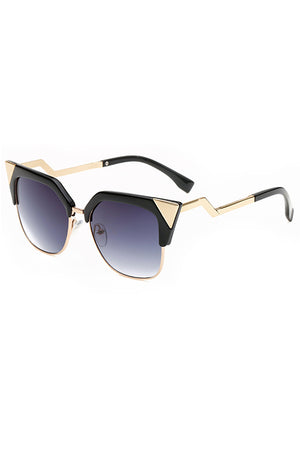 Antonette Cat Eye Square Sunglasses