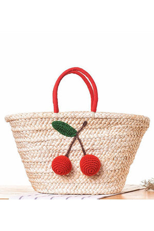Woven Straw Handmade Shopping Handbags