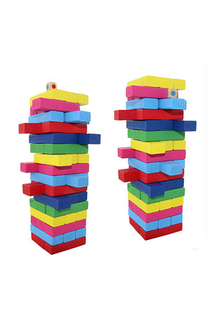 Laminated Building Blocks 48PCS/LOT Classic IQ 3D Wooden Interlocking Burr Game