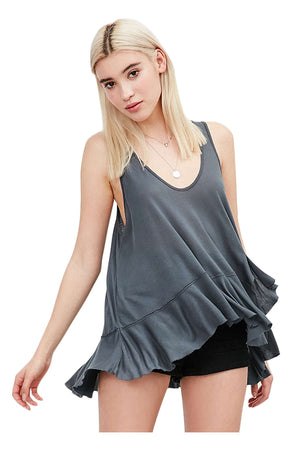 Anaya Sleeveless Long Sexy Tops