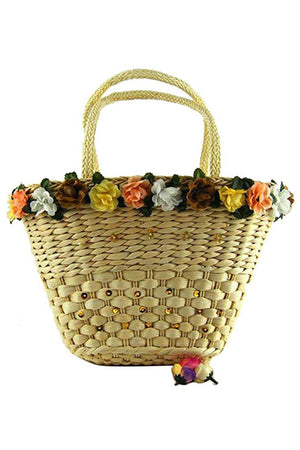 Casual Beach Shoulder Tote Handbag