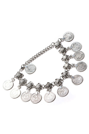 Elliana Antique Anklet Bracelet