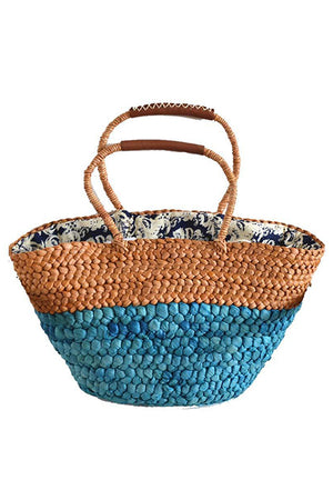Casual Vacation Straw Shoulder Beach Handbag