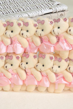 Lovely Plush Mini Bear Toy For Kids