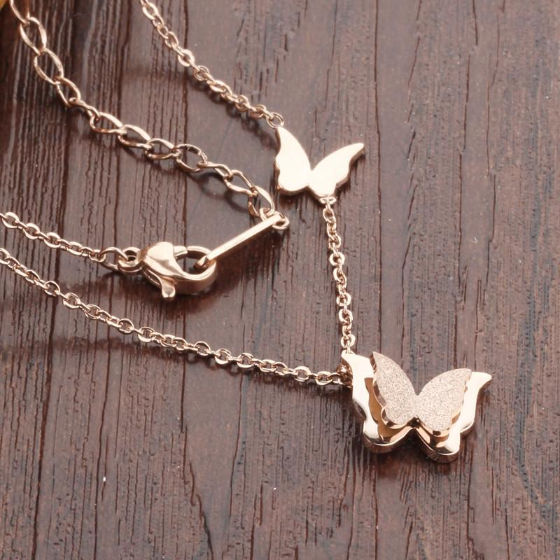 Butterfly Collarbone Cute Woman Necklaces VowMart