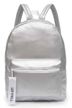 Women Laptop Backpack Holographic Leather Bag