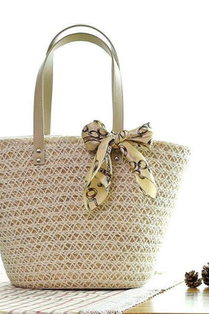 Bag Store Shoulder Bags Women's Beach Woven Knitting Straw Shoulder Handbags.