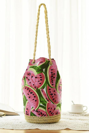 Bag Store Shoulder Bags Women Straw Beach Hand-Made Woven Shoulder Handbag Travel Purse