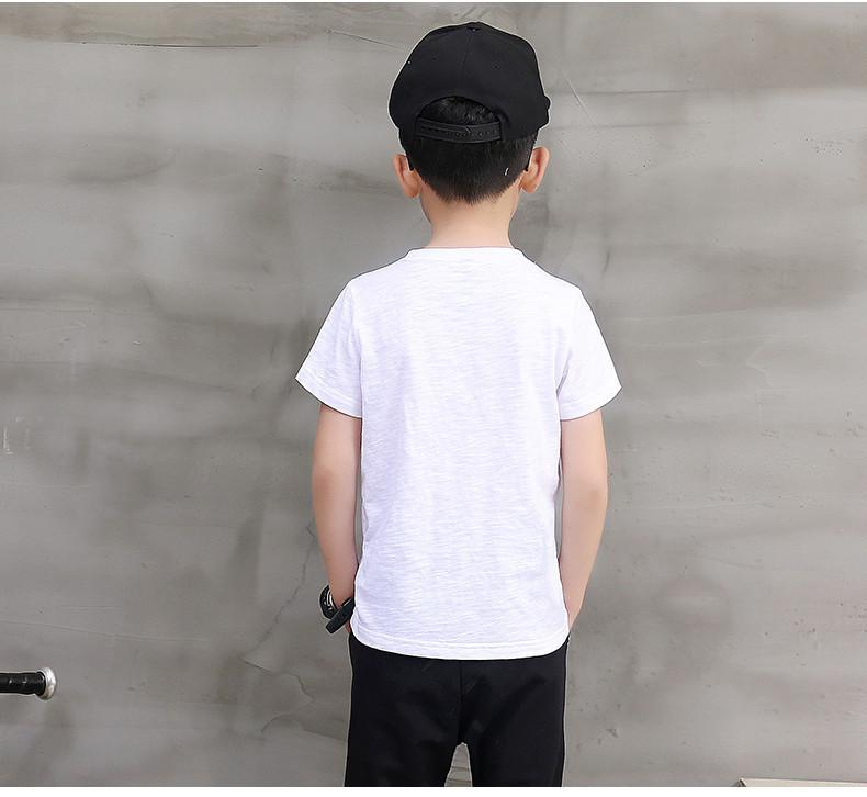 Margin Free Shop 100% Cotton Children T Shirts For Boys Clothes