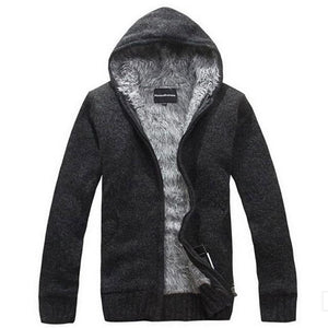 ROBERT Casual Slim Fit Hooded Jacket