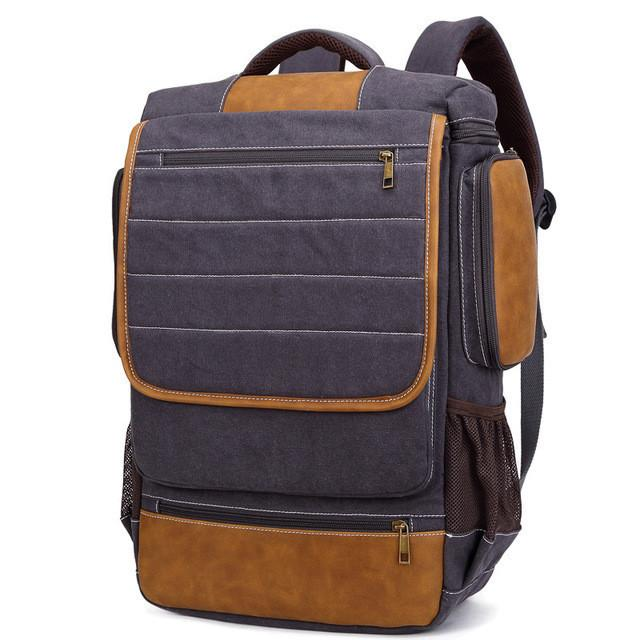 057e68a0d7 Shop Store Backpacks dark blue New Casual Unisex Canvas Large Capacity Travel  Backpacks