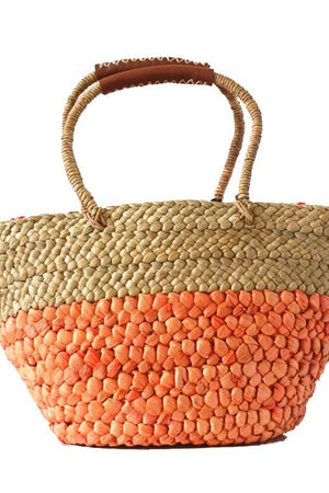 Store Top-Handle Bags Casual Vacation Straw Shoulder Beach Handbag