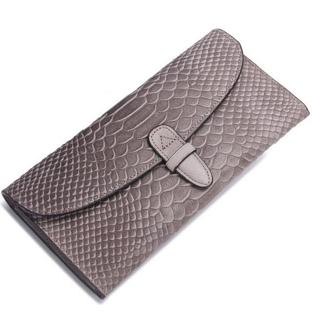 Alligator Card Holder Purse Handy Women Wallet