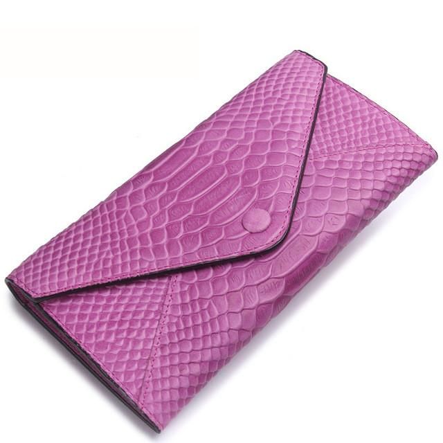 Designer Leather Card Holder Clutch Wallet For Women