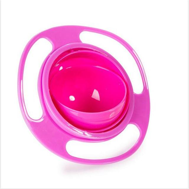 Baby Universal 360 Rotate Spill-Proof Bowl Dishes