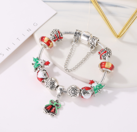 Customize yours —Unique Xmas Bracelet