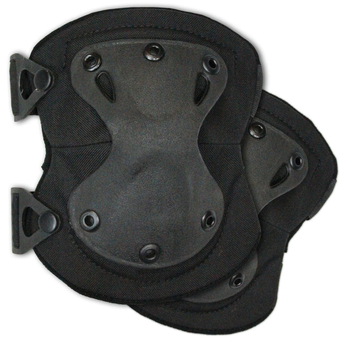 Elite X Tactical Knee Pads Black | Bulldog Tactical Gear
