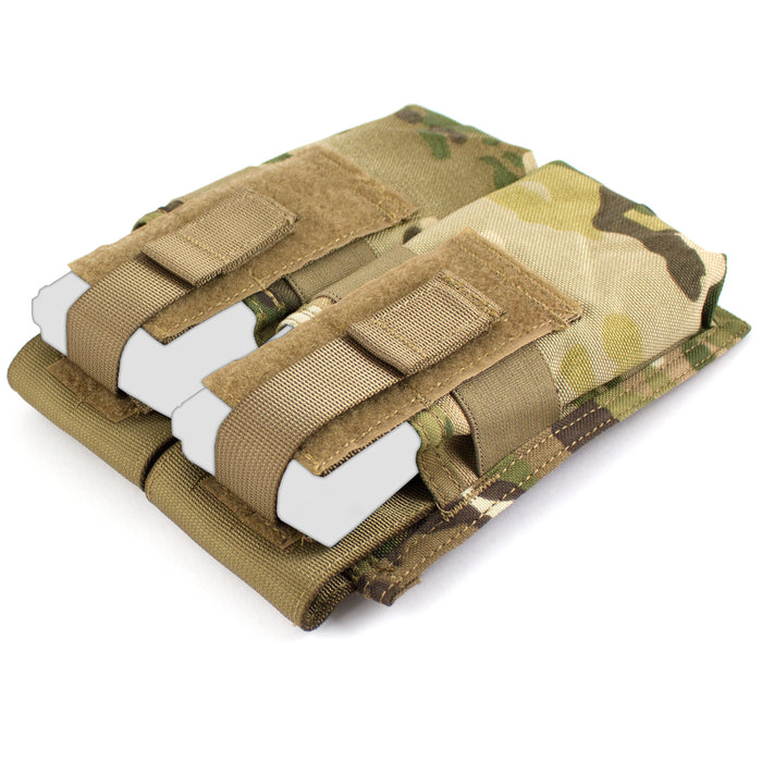 MOLLE Double M4 Mag Pouch - Bulldog Tactical Gear