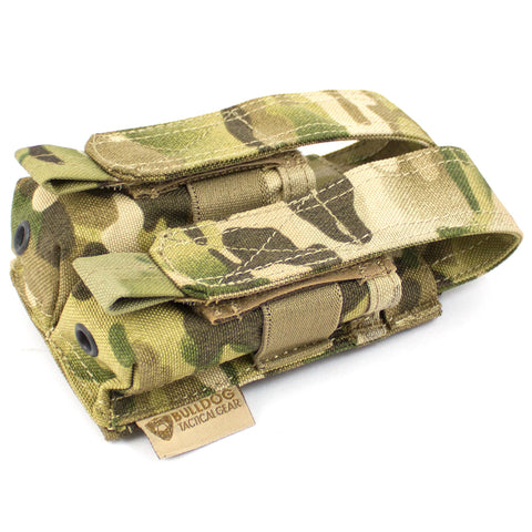 MOLLE Double Pistol Mag Pouch - Bulldog Tactical Gear