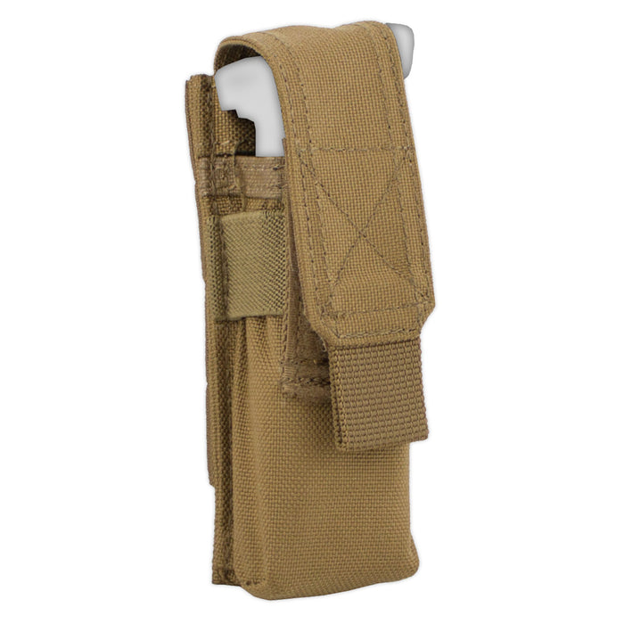 MOLLE Single Pistol Mag Pouch - Bulldog Tactical Gear