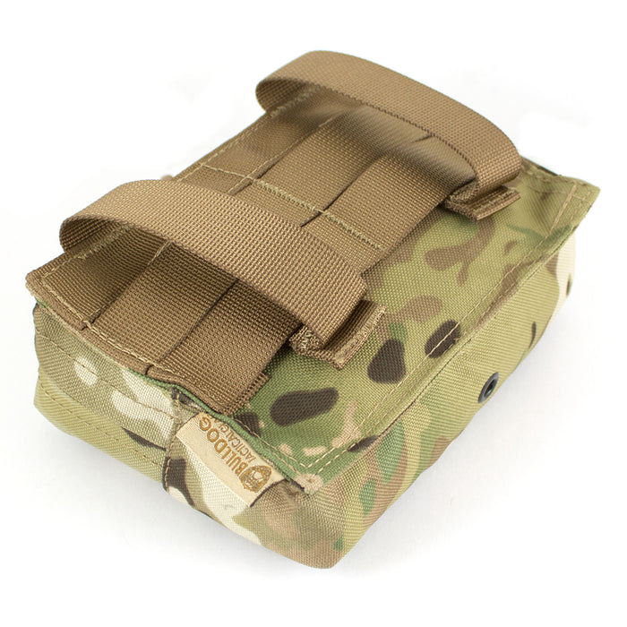 Laser MOLLE Medium Horizontal Utility Pouch - Bulldog Tactical Gear