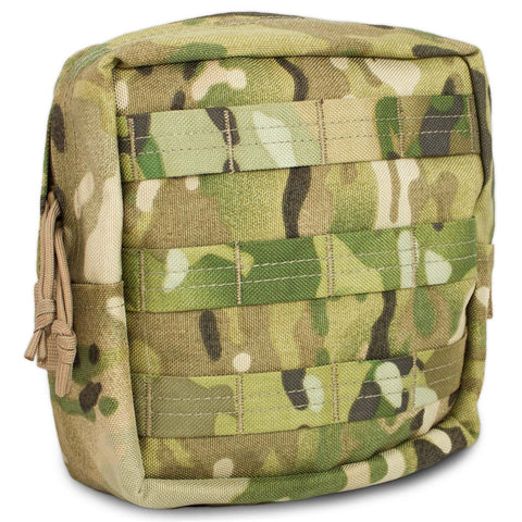 MOLLE Medium Upright Utility Pouch - Bulldog Tactical Gear