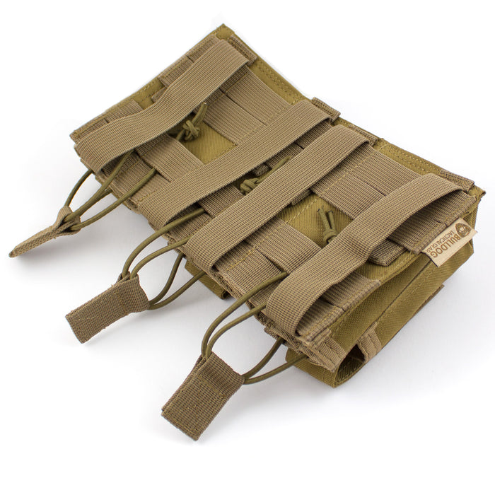 MOLLE Triple Bungee Mag Pouch - Bulldog Tactical Gear