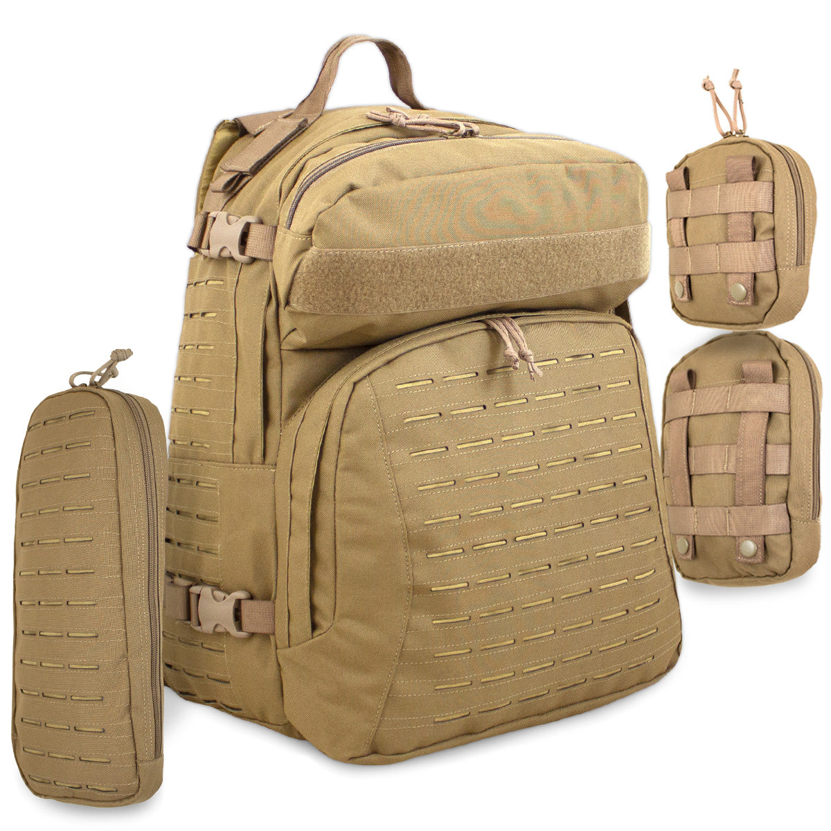 Tacticus V2 Rucksack 37L Coyote | Bulldog Tactical Gear