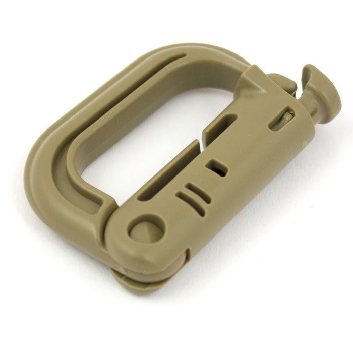 Tactical Locking D-Ring - Bulldog Tactical Gear